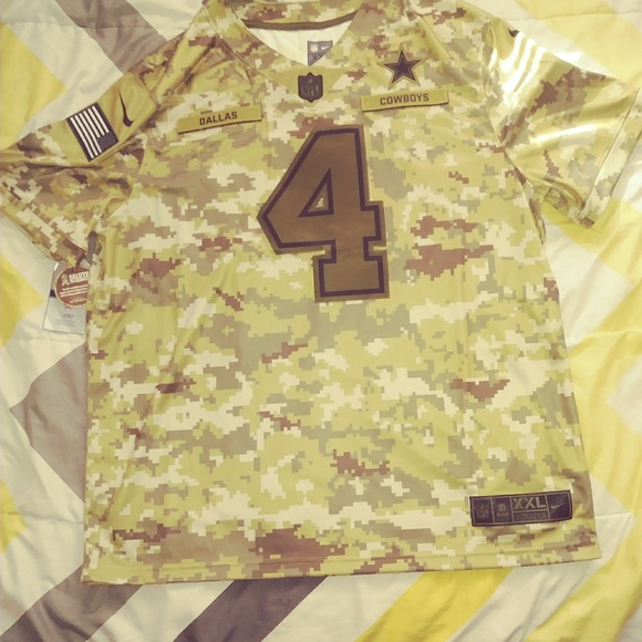check out 467b9 fd64f Cowboys Jersey NWT